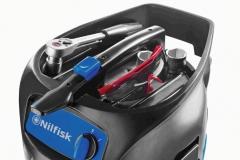Nilfisk ATTIX 30 unierwsalny odkurzacz jednofazowy miejsce na akcesoria
