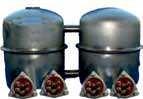 Kotły parowe połączone hydraulicznie