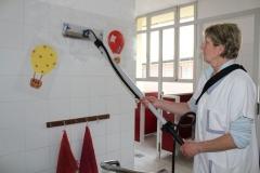 mycie w przedszkolu myjka parowa profesjonalna carmen plus 6 bar