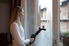 parowe mycie okien Verona  Carmen Plus Inox