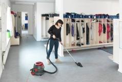 sprzątanie szatni w szkole podstawowej  odkurzacz profesjonalny DSU10 Viper