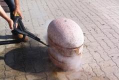 usuwanie zabrudzeń z betony parownicą Evo 304 Base