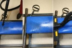 parowe mycie ławeczki na siłowni Verona FCR Vac Steam Box Vac Mini