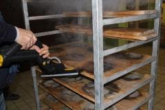 verona  steam tech 10 bar podczas czyszczenia