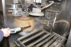 Czyszczenie parowe linii do produkcji sera