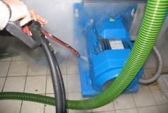 czyszczenie silnika elektrycznego parownicą steam power 6 i 10 bar