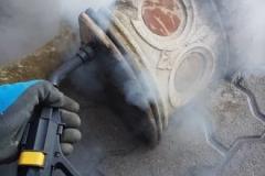 czyszczenie zabytków parownicą