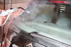 mycie auta myjką parową