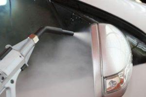 myjka parowa do czyszczenia tapicerki w samochodzie