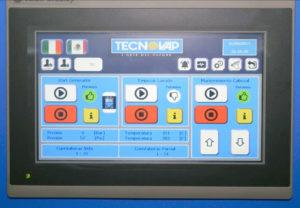 Steam Plant - panel sterowania system mycia transporterów