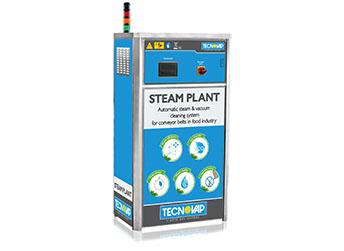 Steam Plant – system mycia przenośników taśmowych