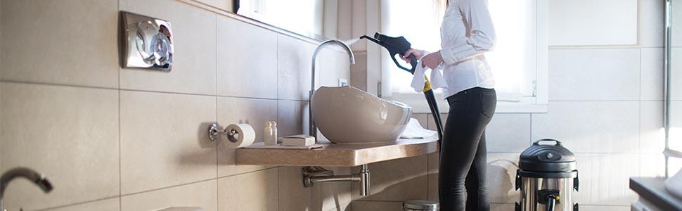 jaka myjka parowa do mycia łazienki