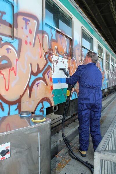 myjnie parowe - zastosowanie w pociągu