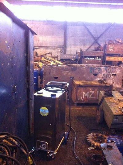 myjnie parowe przemysł mechaniczny