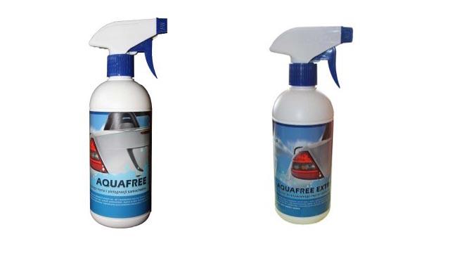 Aquafree- płyn do bezwodnego mycia