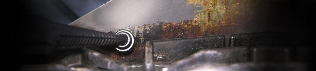 czyszczenie zaplecza kuchennego parownicą