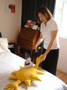 dezynfekcja zabawek i materacy