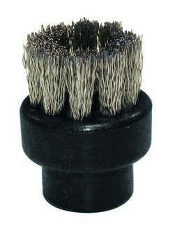 Mała szczoteczka z włosiem ze stali nierdzewnej fi28mm