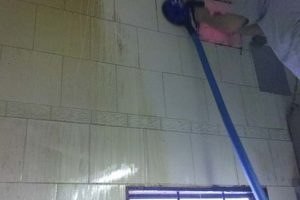 mycie sufitów i czyszczenie kratek wentylacyjnych parownicą przemysłową