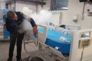 mycie w szpitalu