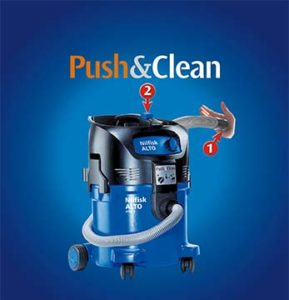 Technologia Nilfisk Push&Clean