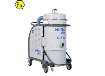 Przemysłowy odkurzacz antywybuchowy Nilfisk CTS40 LC Z22 EXA 5PP