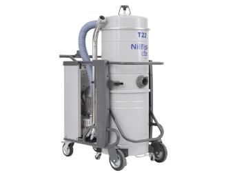 Przemysłowy odkurzacz trójfazowy Nilfisk T22