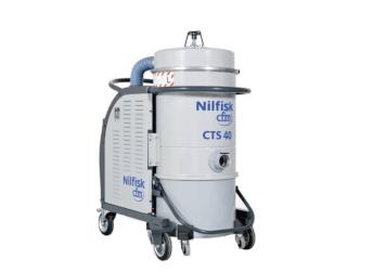 Przemysłowy odkurzacz trójfazowy Nilfisk CTS40